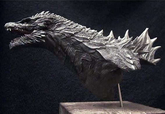 Modelo conceitual possível de Godzilla
